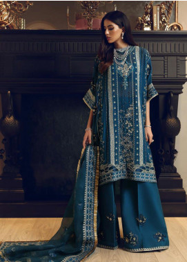 Elan Embroidered Chiffon Unstitched 3 Piece Suit EL19C 06 KEVSER - Luxury Collection