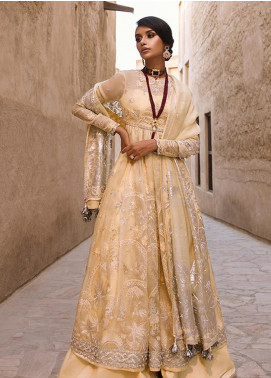 Elan Embroidered Organza Unstitched 3 Piece Suit EL19F 02 KYRA - Festive Collection