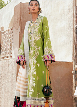 Elan Embroidered Lawn Unstitched 3 Piece Suit EL20F 02 CHLOE - Festive Collection