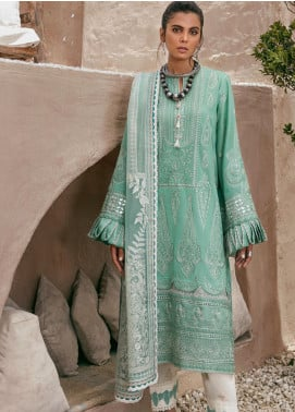 Elan Embroidered Lawn Unstitched 3 Piece Suit EL20F 03 HARUNA - Festive Collection