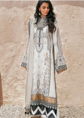 Elan Embroidered Lawn Unstitched 3 Piece Suit EL20F 06 BELA - Festive Collection