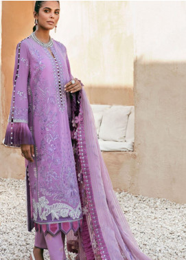 Elan Embroidered Lawn Unstitched 3 Piece Suit EL20F WISTER - Festive Collection