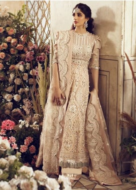 Elan Embroidered Net Unstitched 3 Piece Suit EL20WF 02 FERAY - Wedding Collection