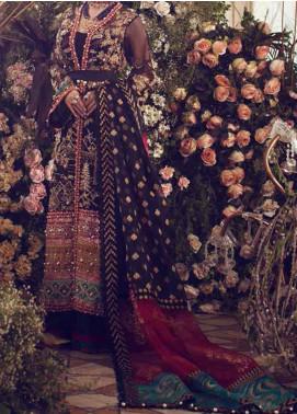 Elan Embroidered Organza Unstitched 3 Piece Suit EL20WF 06 SEDA - Wedding Collection