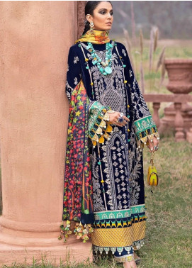 The Solstice Queen by Elan Embroidered Velvet Unstitched 3 Piece Suit EL20SQ 03 DRUANTIA - Winter Collection
