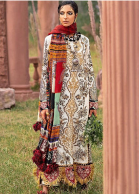 The Solstice Queen by Elan Embroidered Khaddar Unstitched 3 Piece Suit EL20SQ 08 CYBELE - Winter Collection