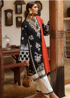 Elan Embroidered Lawn Unstitched 3 Piece Suit EL20L 13-A KESI - Spring / Summer Collection