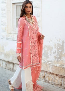 Elan Embroidered Lawn Unstitched 3 Piece Suit EL20L 9-B TISHALA - Spring / Summer Collection