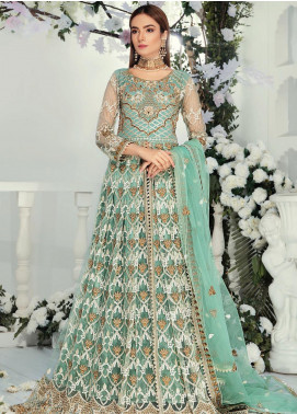 Emaan Adeel Embroidered Chiffon Unstitched 3 Piece Suit EA19-C9 906 - Luxury Collection