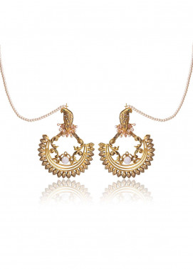 Esfir Jewels  Goldplated  Earrings Ek tha Panchi - Ladies Jewellery