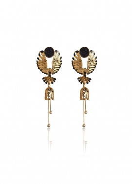 Esfir Jewels  Goldplated  Earrings Falcons Fury - Ladies Jewellery