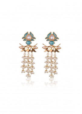 Esfir Jewels  Goldplated  Earrings Idle Petal - Ladies Jewellery