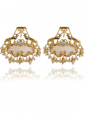 Esfir Jewels  Goldplated  Earrings Moonlit Garden - Ladies Jewellery