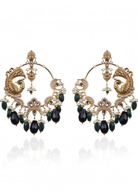 Esfir Jewels  Goldplated  Earrings Ranis Heirloom - Ladies Jewellery