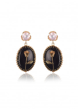 Esfir Jewels  Goldplated  Earrings Unattainable - Ladies Jewellery
