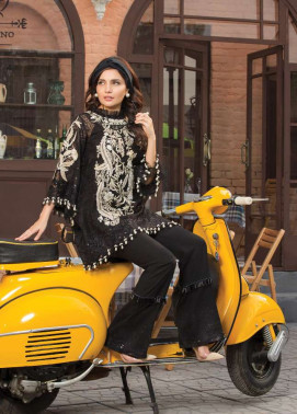 Epoque Suffuse by Sana Yasir Embroidered Organza Unstitched 3 Piece Suit ESY17C 01