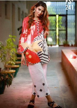 Ezaan by Fateh Printed Lawn Unstitched Kurties FT20EZ FS-241 - Spring / Summer Collection