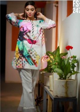 Ezaan by Fateh Printed Lawn Unstitched Kurties FT20EZ FS-247 - Spring / Summer Collection