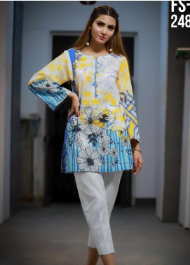 Ezaan by Fateh Printed Lawn Unstitched Kurties FT20EZ FS-248 - Spring / Summer Collection