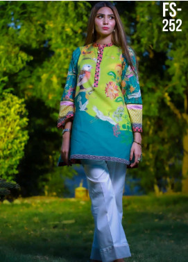 Ezaan by Fateh Printed Lawn Unstitched Kurties FT20EZ FS-252 - Spring / Summer Collection