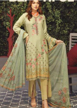 Fabura by Sanam Saeed Embroidered Cottel Unstitched 3 Piece Suit SS2CT 03 - Winter Collection