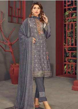 Fabura by Sanam Saeed Embroidered Cottel Unstitched 3 Piece Suit SS2CT 06 - Winter Collection
