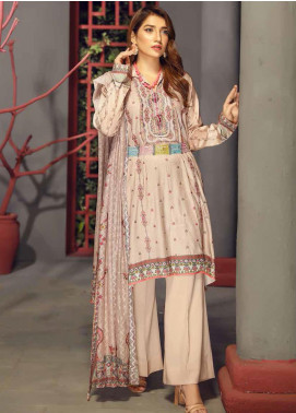 Fabura by Sanam Saeed Embroidered Cottel Unstitched 3 Piece Suit SS2CT 09 - Winter Collection
