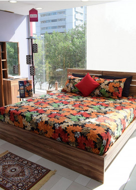 Plush Mink Double Bed Man Made Material Fantasy Bed Sheet Supreme Finish FA03 - Home & Decor