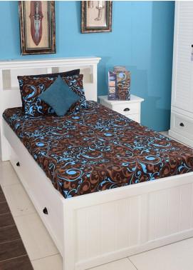 Plush Mink Single Bed Man Made Material Fantasy Bed Sheet Supreme Finish FS03 - Home & Decor
