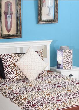 Plush Mink Single Bed Man Made Material Fantasy Bed Sheet Supreme Finish FS06 - Home & Decor