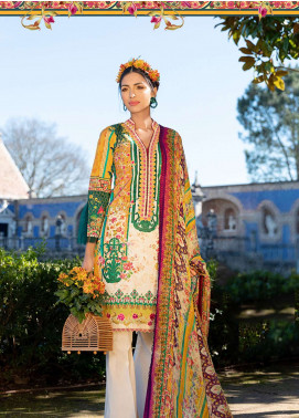 Farah Talib Embroidered Lawn Unstitched 3 Piece Suit FTA19L 3 Amber Sol - Spring / Summer Collection