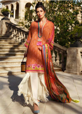 Farah Talib Embroidered Lawn Unstitched 3 Piece Suit FTA20SS 03 Anita - Spring / Summer Collection