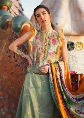 Farah Talib Embroidered Jacquard Unstitched 3 Piece Suit FTA20SS 05 Julia - Spring / Summer Collection
