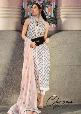 Farah Talib Embroidered Lawn Unstitched 3 Piece Suit FTA20SS 06 Chroma - Spring / Summer Collection