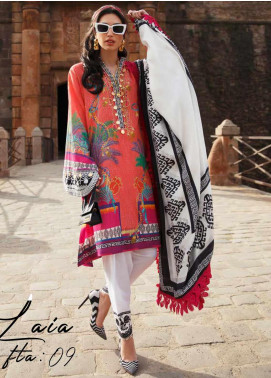 Farah Talib Embroidered Lawn Unstitched 3 Piece Suit FTA20SS 09 Laia - Spring / Summer Collection
