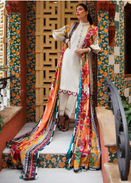 Farah Talib Embroidered Jacquard Unstitched 3 Piece Suit FTA20SS 13 Mireia - Spring / Summer Collection