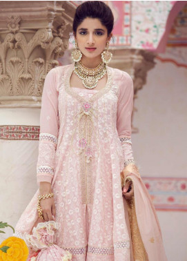 Farah Talib Embroidered Lawn Unstitched 3 Piece Suit FTA19E 3 GULAAB - Festive Collection