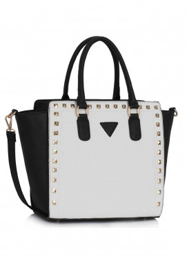 Fashion Only Faux Leather Tote  Bags for Woman - Black