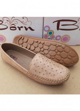 Fashionholic Casual Style   Shoes 6561 Cream Stars