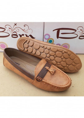 Fashionholic Casual Style   Shoes 6561 Fawn & Brown