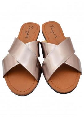 Fashionholic Casual Style  Flat Shoes 6202 Golden
