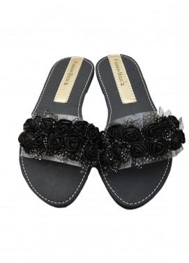 Fashionholic Casual Style  Flat Shoes 6204 Black
