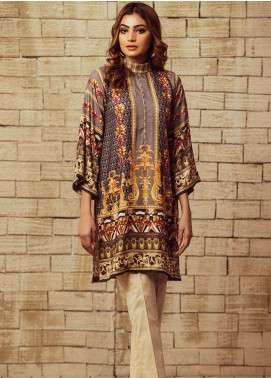 Fateh Printed Viscose Unstitched Kurties FS-0061 - Winter Collection