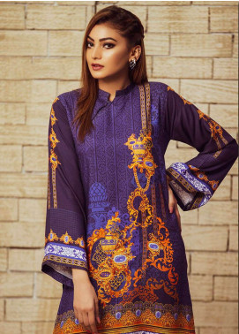 Fateh Printed Viscose Unstitched Kurties FS-0062 - Winter Collection