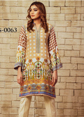 Fateh Printed Viscose Unstitched Kurties FS-0063 - Winter Collection