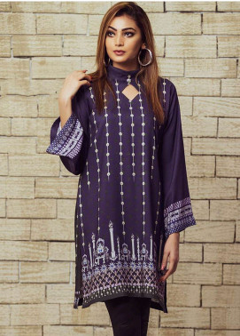 Fateh Printed Viscose Unstitched Kurties FS-0064 - Winter Collection
