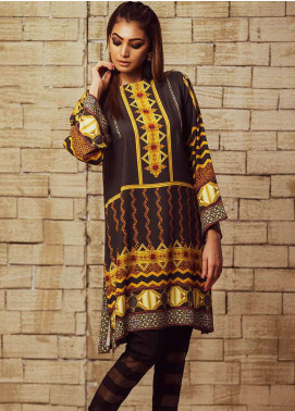 Fateh Printed Viscose Unstitched Kurties FS-0068 - Winter Collection