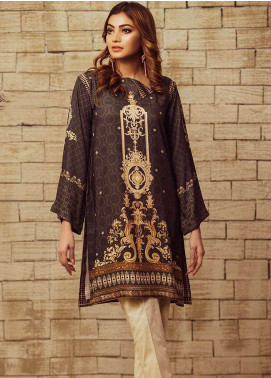 Fateh Printed Viscose Unstitched Kurties FS-0069 - Winter Collection