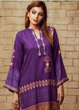 Fateh Printed Viscose Unstitched Kurties FS-0070 - Winter Collection