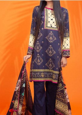 Digi Funk by Fateh Printed Cambric Unstitched 3 Piece Suit FT20-DF2 614 - Winter Collection